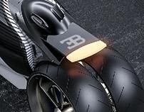 Bugatti Type 100M bike concept