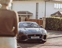 Jaguar F-Type SVR Photoshoot