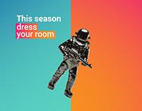 Roomwear (Branding - Web)