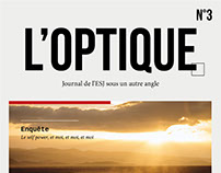 L'optique : Journal de l'ESJ Paris