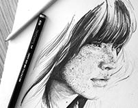 Ink & Pencil #3