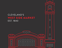 West Side Market Illustration