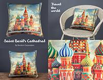 Travel De World-Cushions Product Photography