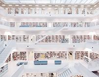 Library, Stuttgart