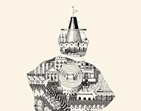 Illustration pour la couverture de Maître Glockenspiel