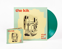 The Kik – Stad en land / Album Artwork