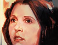 Princess Leia Study