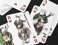APES OF SPADES PLAYING CARDS