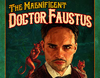 """The Magnificent Doctor Faustus"" Theatre Poster"