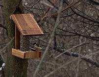 Angle Bird feeder