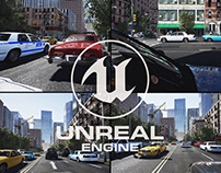 City in unreal engine 4