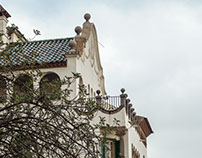 The House in Park Guell.