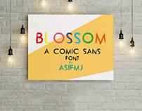 Blossom- a comic sans font (Free)