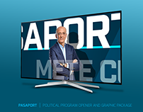 PASAPORT | POLITICAL PROGRAM OPENER AND GRAPHIC PACKAGE
