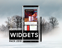 ANDROID WIDGETS PACK 2018