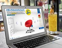 IKEA - #BirOdadaKalsam IKEA'dan alacağım 3 şey