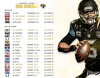 2016 Preseason and Regular Season Schedule