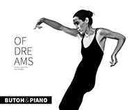 Video of Butoh-performance with piano music