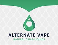 Alternate Vape Logo Design and Brand Identity