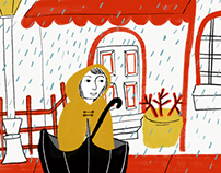 Rainy day - 11/8/2017 adobe live sketch