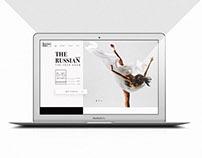THE RUSSIAN BALLET / Identity & Web design