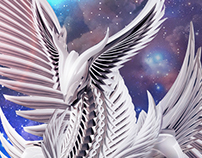 """Divine Platinum King"" Artwork"