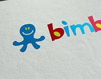 Bimbo Bathing Circle for Kids Logotype & Packaging
