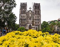 St. Joseph's Cathedral, Hanoi, Vietnam