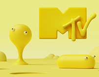 MTV Artist Ident - Happy