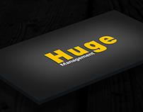 Huge management Logo Design