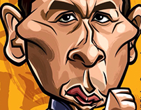 Donnie Yen caricature (Ip Man HK movie)