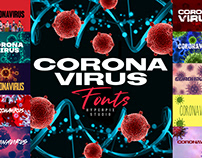 Coronavirus Fonts Collection