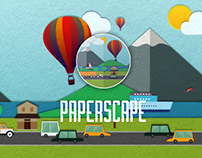 Paperscape - Animated Live Wallpaper