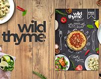 Wild Thyme - Logo Re-Brand & Menu Board