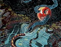 Illustration- Tiger and Rose