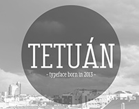 Typeface Tetuán