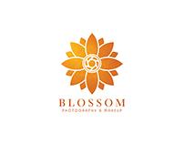 Blossom make-up & photography logo design