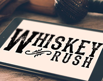 Whiskey Rush Branding
