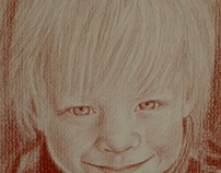 Red Chalk Portrait Commissions