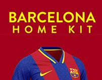 Barcelona football kit 21/22