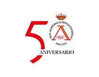 Imagen 50 Aniversario Real Academia Olímpica Española