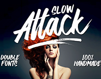 Slow Attack - Double Fonts