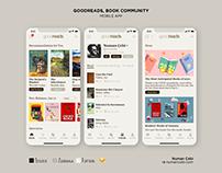 GoodReads Book Community Mobile App