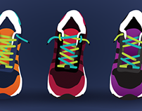 Shoe Lacing Techniques | Illustration