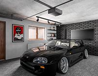 Garage Makeover / Interior Design