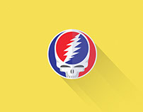 Material Design Steal Your Face Logo