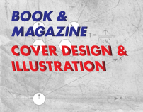 Book & Magazine - Cover Design & Illustration