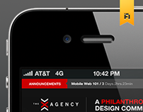 X Agency – Mobile UI