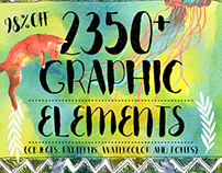 BEST BUNDLE : 2350+ DESIGN ELEMENTS