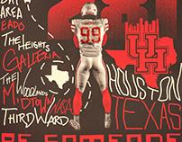 Houston Football Recruiting Template: by Brett Gemas